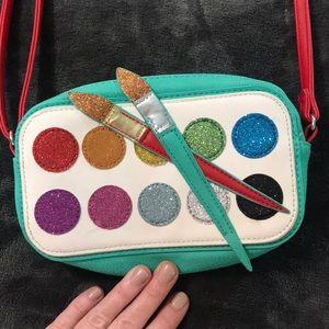 Girls paint pallet purse